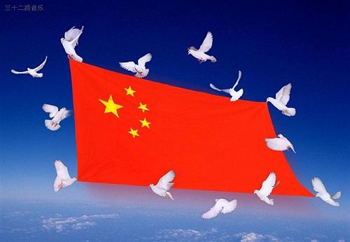 朝鲜的国旗是一个星,中国国旗是五颗星